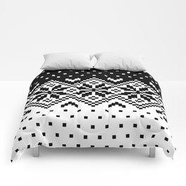 Black & White Pattern Comforters