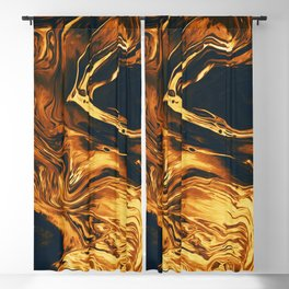 Gold Blackout Curtain