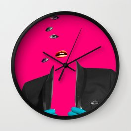 Look into the future Wall Clock