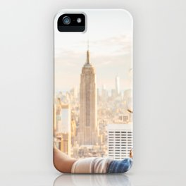 Touching New York iPhone Case