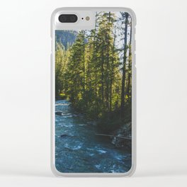 Morning at Agnes Creek - Pacific Crest Trail, Washington Clear iPhone Case
