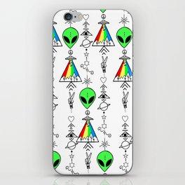 Bitch, PEACE! iPhone Skin