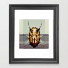Dissolving 1 Art work for SHAMS Framed Art Print