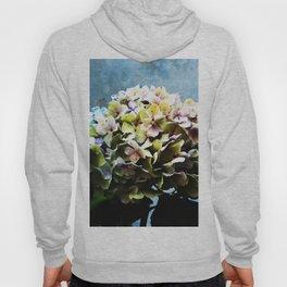 Shabby-chic Hydrangea Flower Hoody
