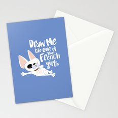 Draw me like one of your French girls Stationery Cards