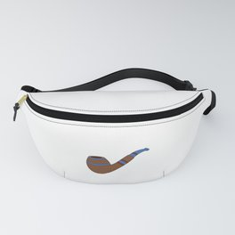Pipe Smoking T-Shirt For Pipe Smoker Keeps my hands busy Fanny Pack