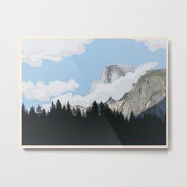 Yosemite (no writing) Metal Print