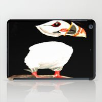 puffin iPad Cases featuring Puffin by  Alexia Miles photography