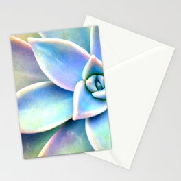Bright Succulent Stationery Cards