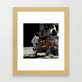 NASA Apollo 12 Lunar Module Space Craft - Astronaut Alan L. Bean 1969 Print Framed Art Print