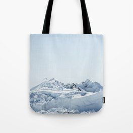wall of ice Tote Bag
