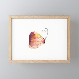Butterfly. Farfalla Framed Mini Art Print