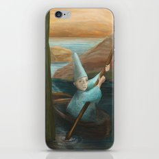 In his Boat iPhone & iPod Skin