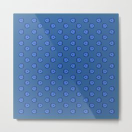 Eclosion bleutée Metal Print