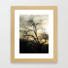 Beck Kiwanis Park in Ontario, Oregon - sunset Framed Art Print