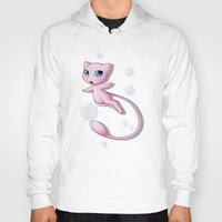 mew Hoodies featuring Mew Bubbles V2 by AngelAito