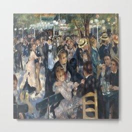 Pierre-August Renoir's Bal du moulin de la Galette Metal Print