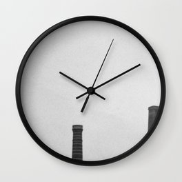 Sydney Park Smokestacks Wall Clock