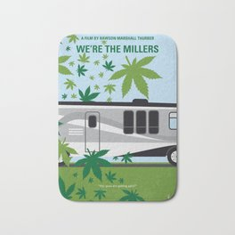 No763 My We are the Millers minimal movie poster Bath Mat