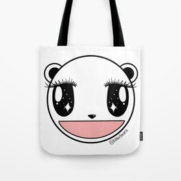 Ecstatic Happy Face Tote Bag