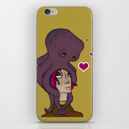Octopus Head iPhone Skin