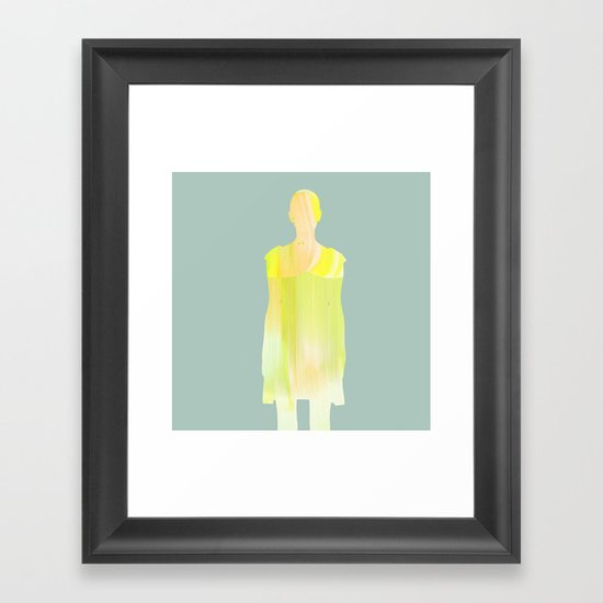 Women Framed Art Print