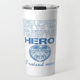 Police Officer's Mom Travel Mug