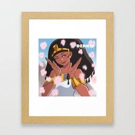 Princess Akhesa - Wife of King Tut Framed Art Print