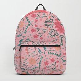 Flower Rounds Mandala Backpack
