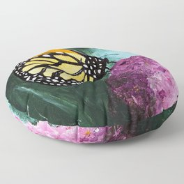 Butterfly - Soft Awakening - by LiliFlore Floor Pillow
