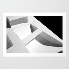Elevated Grid Art Print