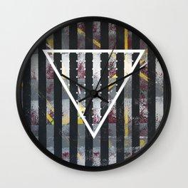 Polarized - Triangle Wall Clock