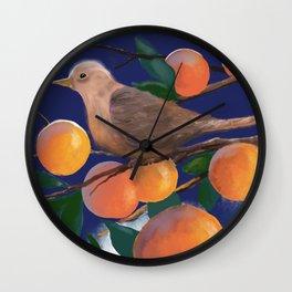 Perfect Perch Wall Clock