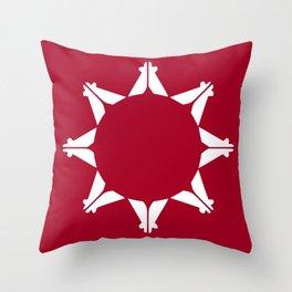Oglala Lakota Sioux Flag Throw Pillow