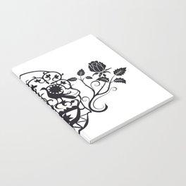 SKULL FLOWER 03 Notebook