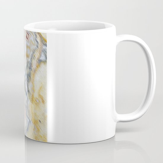 Marble Red Mug