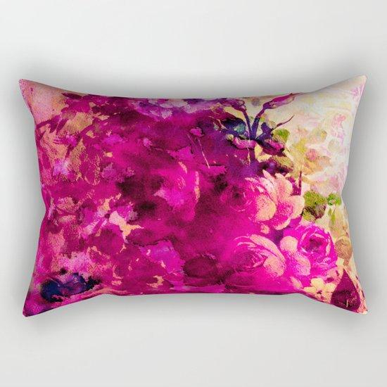climbing  roses Rectangular Pillow