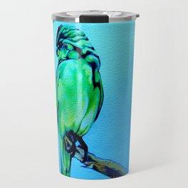 Kakariki - The NZ Red-Crowned Parakeet Travel Mug