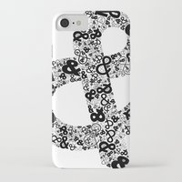 helvetica iPhone & iPod Cases featuring Helvetica Ampersand  by Phillip Kauffman