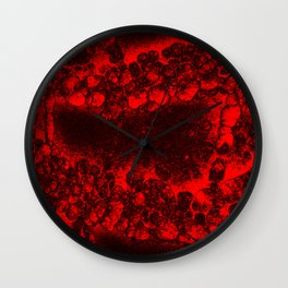 Volcano Dreams Wall Clock