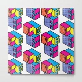 RGB (Convert to CMYK) Repeat Pattern Metal Print