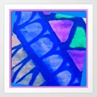 batik Art Prints featuring Batik by Susan Laine Studios
