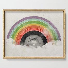 Rainbow Classics Serving Tray