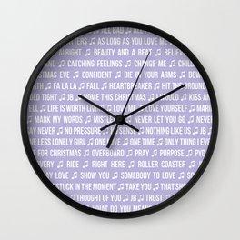 JB SONGS Wall Clock