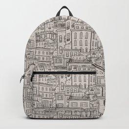 Urbana Ivory & Charcoal Backpack