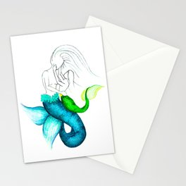 Maternal Creature Stationery Cards
