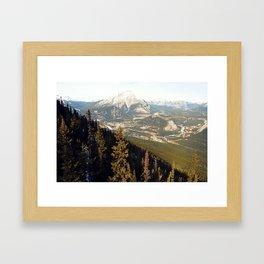 Cascade Mountain Framed Art Print