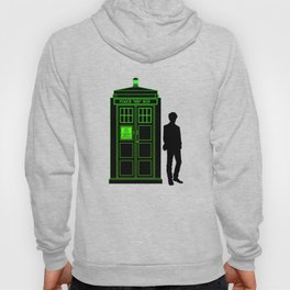 Tardis With The Eleventh Doctor Hoody