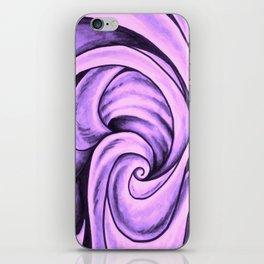 Swirl (NEON PINK) iPhone Skin