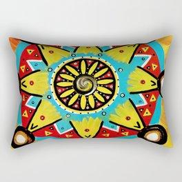 Be Yourself Mandala Rectangular Pillow
